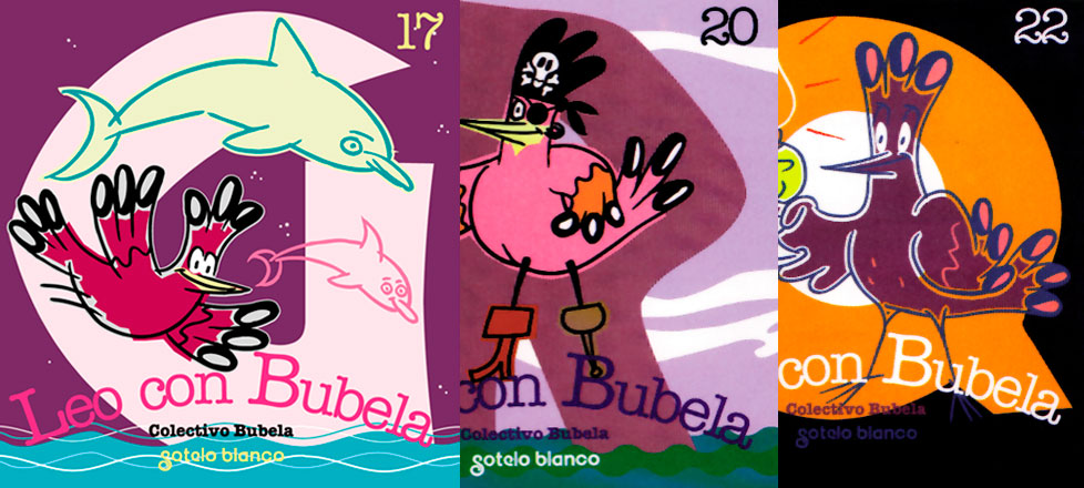 Leo con Bubela