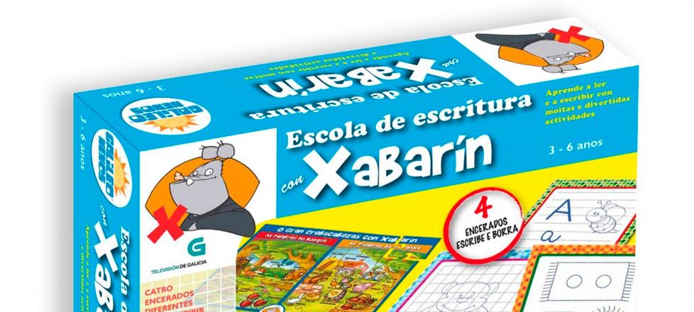 Escola de escritura con Xabarín