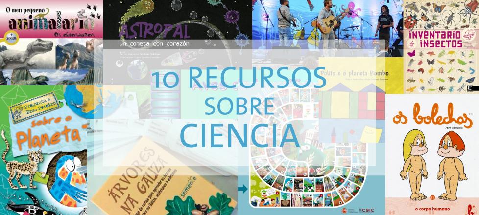 10 Recursos sobre ciencia