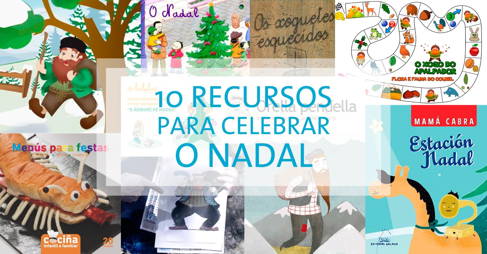 10 Recursos para celebrar o Nadal