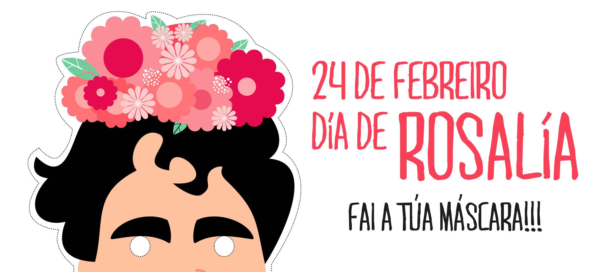 Máscara de Rosalía