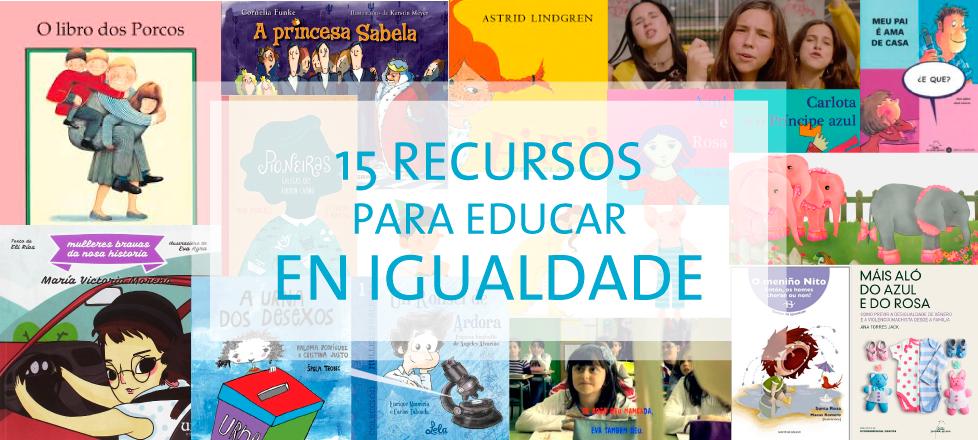 15 Recursos para educar en igualdade