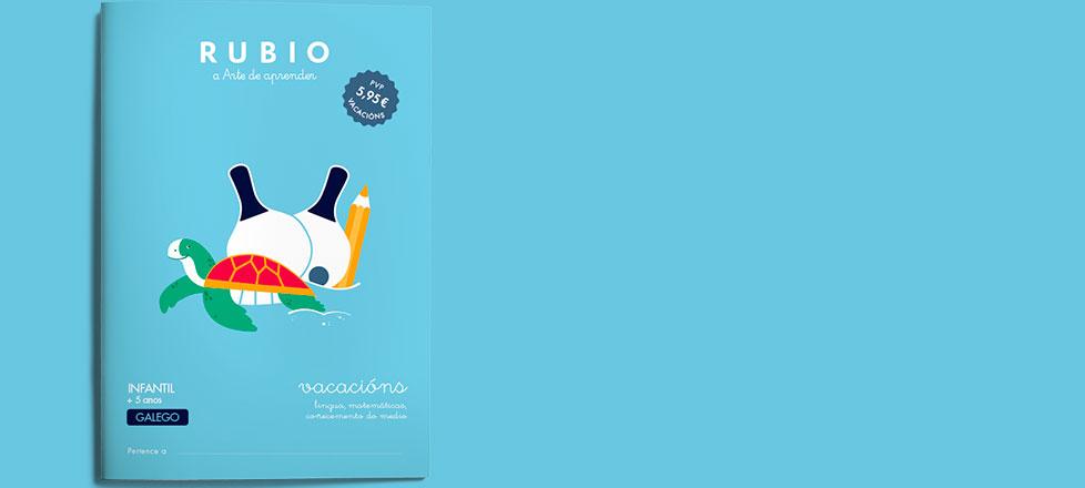 Cadernos Rubio: Vacacións galego